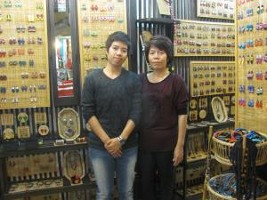 Designers of teak wood earrings I sell a lot of.