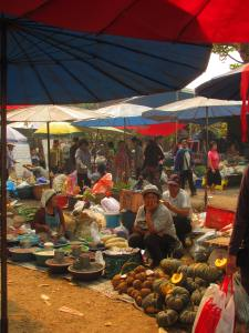 The Chiang Dao market.