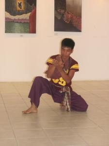 Heartfelt expression from a Cambodian dancer.