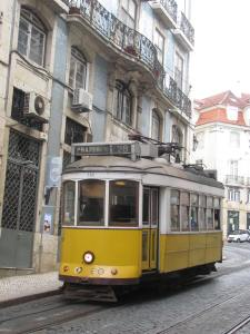 The No. 28 tram car - a Lisboa landmark.