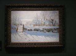 An early Monet painting.