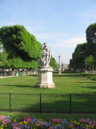 The Luxembourg Gardens.