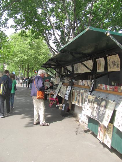 Bookstall on the Left Bank.