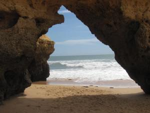 One of the many grottos.