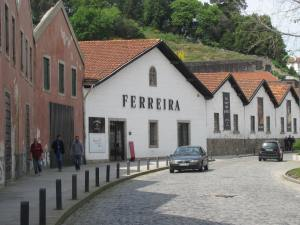 One of many wine lodges in Vila Nova de Gaia.