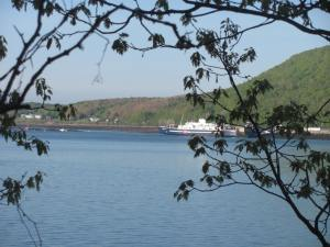 Looking across to Digby and the ferry from Victoria Beach.