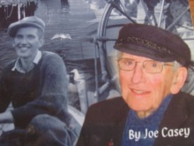 "Joe Casey as he appeared on the cover of ""The Life & Times of ... published in 2008."
