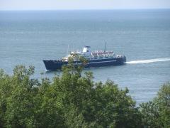 The Princess of Acadia ferry.