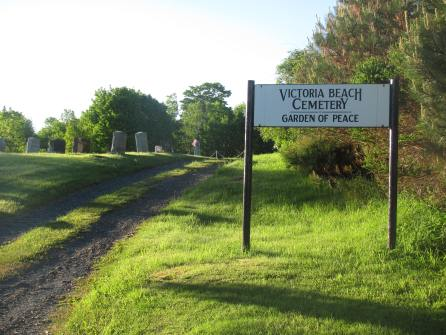 Entrance to the cemetery.