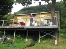 A Beach house undergoing extensive renovation by a couple from Ontario who escaped the 'rat race'.