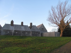 A replica of the Habitation in Port Royal.