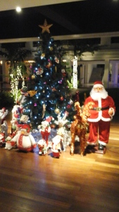 Christmas display.