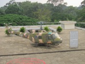Helicopter left from the Viet Nam war