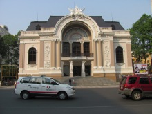 The opera house in Ho Che Minh or Saigon
