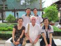 Group of students in Ho Che Minh city