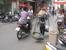 Street scene in Hanoi