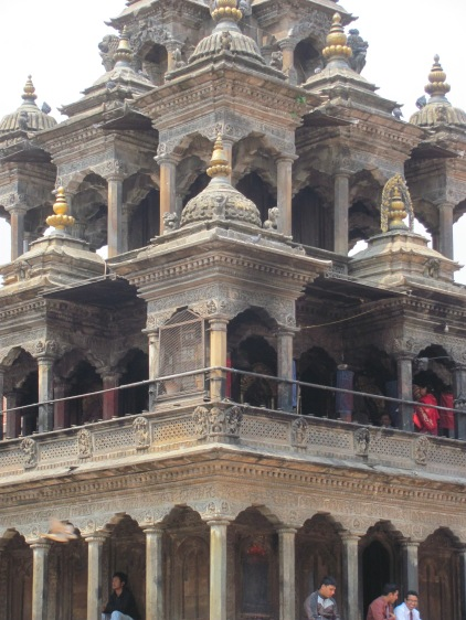 A Hindu temple in Patan.