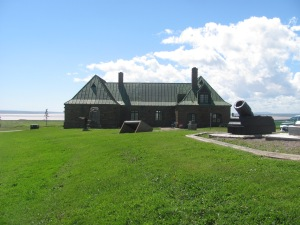 Fort Beausejour in Aulac, NB.
