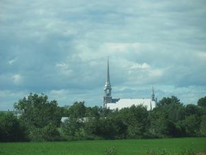 Approaching Kamarouska, Quebec.
