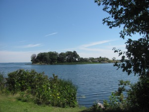 One of the Thousand Islands.