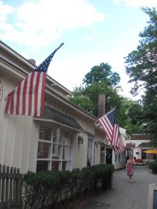 Main street in Stockbridge, Mass.