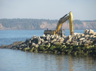 Building a new wharf