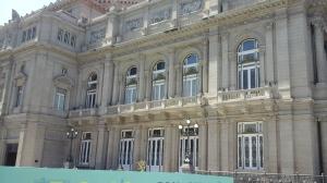 The Theatre Colon opera hall.