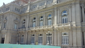 The Theatre Colon opera hall.