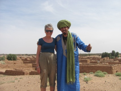 My guide for the camel trek