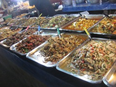 Thai food at the market