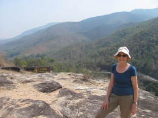 Trekking in Ob Luang National Park