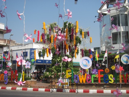 Flower Festival in Chiang Mai