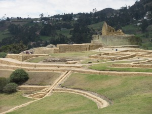 Incan ruins at Ingapirca.
