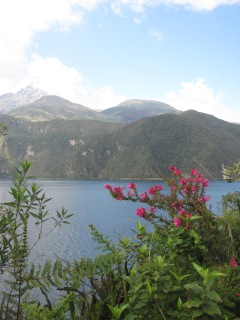 Lake or laguna near Cotacatchi.
