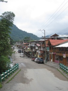 The village of Mindo