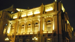 The world famous Teatro Colon.