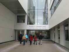 The new Purdy Crawford Arts Centre.