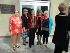 Liz, Shelia, Me, Hughena, and Maureen Walker.