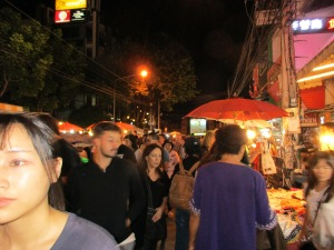 Night Walking Market