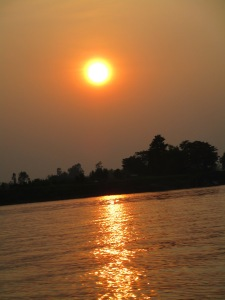 The mighty Mekong River.
