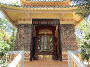 A temple with huge bell.