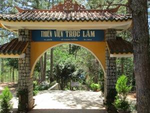 Entrance to the pagoda.