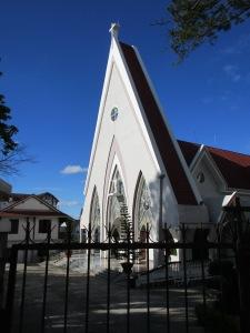 A more modern church.