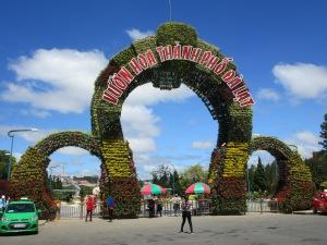 Dalat Park entrance.