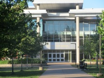 The new Central High School on Bell Road.