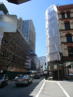 Barrington St. under construction