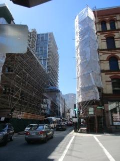 Barrington St. under construction
