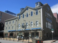 Halifax's famous Five Fishermen restaurant has remained unscathed by the new intruder.