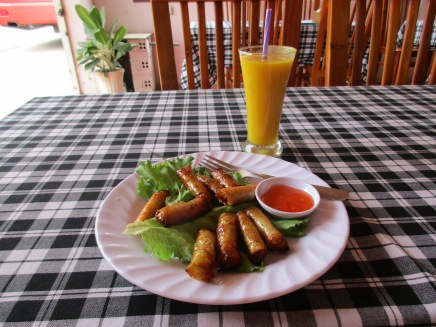 Mui Ne, Viet Nam at my favourite restaurant