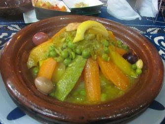A delicious Moroccan tangine